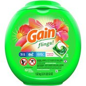 Gain Flings Liquid Laundry Detergent, Tropical Sunrise Scent