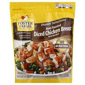 Foster Farms Diced Chicken Breast, Oven Roasted