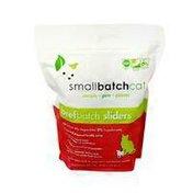 Smal Batch Cat Beefbatch Sliders Cat Food