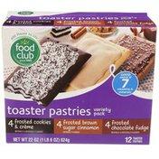 Food Club Vp Chocolate Toaster Pastries
