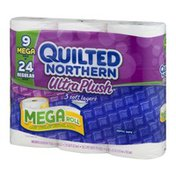 Quilted Northern Ultra Plush Mega Roll Bathroom Tissue - 9 CT