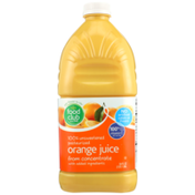 Food Club 100% Unsweetened Pasteurized Orange Juice From Concentrate With Added Ingredients