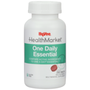 Hy-Vee Healthmarket, One Daily Essential Multivitamin & Multimineral Supplement Tablets