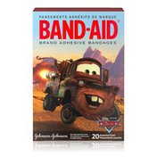 Band-Aid Brand Adhesive Bandages Featuring Disney/Pixar Cars, Assorted Sizes