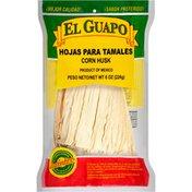 El Guapo®  Whole Corn Husks (Hoja Enconchada Para Tamales)