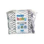 Meijer Sensitive Fragrance Free Baby Wipes