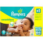 Pampers Swadlers Pampers Swaddlers Diapers Size 3 152 count Diapers