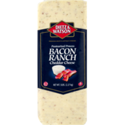 Dietz & Watson Bacon Ranch Cheddar Cheese