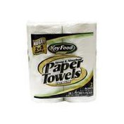 Key Food Huge Strong & Absorbent Premium Paper Towel Rolls