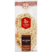 La Brea Bakery Naan, Multigrain, 3 pack