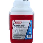 Coleman Beverage Cooler, Flip Open Cap, 1/3 Gallon