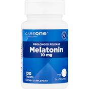 CareOne Melatonin, 10 mg, Prolonged Release, Tablets