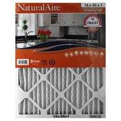 NaturalAire Air Filter, Odor Eliminator w/Baking Soda, 16x20x1, Sleeve