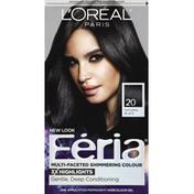 Feria Permanent Hair Colour Gel, Natural Black 20