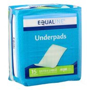 Equaline Underpads, Moderate Abosrbency, Extra Large