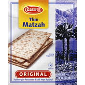 Osem Matzah, Thin, Original