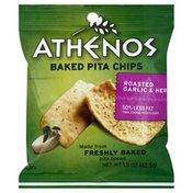 Athenos Baked Pita Chips, Roasted Garlic & Herb