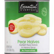Essential Everyday Pear Halves, Bartlett, in Heavy Syrup