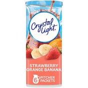 Crystal Light Strawberry Orange Banana Drink Mix