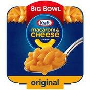 Kraft Original Macaroni & Cheese Easy Microwavable Big Bowl Dinner