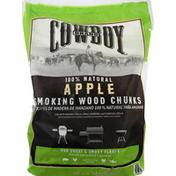 Cowboy Apple Wood Chunks, 600 cu in