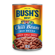 Bush's Best Red Beans in a Hot Chili Sauce