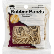 CLi Rubber Bands, Assorted Sizes