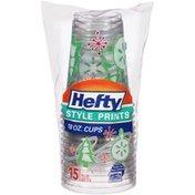 Hefty 18 oz. Plastic Holiday Cups