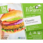 Dr. Praeger's Veggie Burgers, Gluten Free, Vegan, Classic