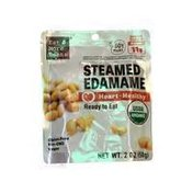 Eat More Beans Steamed Edamame