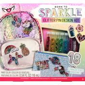 Fashion Angels Design Kit, Glitter Pin, 8+