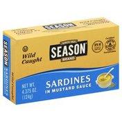 Season Sardines, in Mustard Sauce, Wild Caught