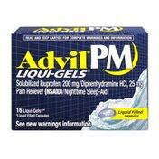 Advil PM Ibuprofen 200 mg Liqui-Gels - 16 CT