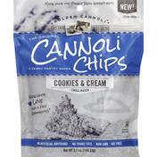 Golden Cannoli Cannoli Chips, Cookies & Cream