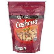 Food Club Whole Cashews