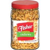 Fisher Halves & Pieces Cashews