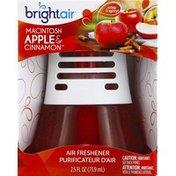 Bright Air Air Freshener, Macintosh Apple & Cinnamon