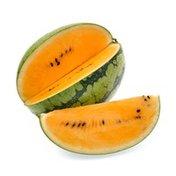 Organic Orange Inside Watermelon