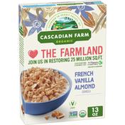 Cascadian Farm Organic Granola, French Vanilla Almond Cereal