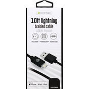 iessentials Cable, Braided, 10 Feet Lightning