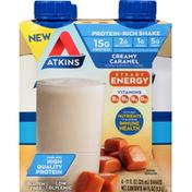 Atkins Protein-Rich Shake, Creamy Caramel