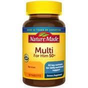 Nature Made Men's Multivitamin 50+ Tablets