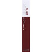 Maybelline Lip Color, Matte Ink, Mover 160