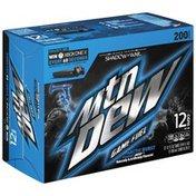 Mtn Dew Soda , Arctic Burst, Naturally & Artificially Flavored