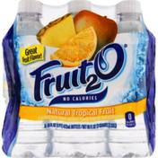 Fruit 2 O Purified Water Beverage, Tropical Fruit