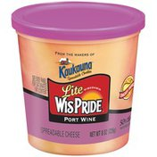 Wis Pride Lite Port Wine Spreadable Cheese