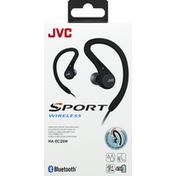 Jvc Wireless Headphones, Black