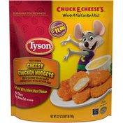 Tyson   Frozen Breaded Bagged Cheesy Chicken Nuggets
