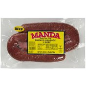 Manda Beef Smoked Sausage