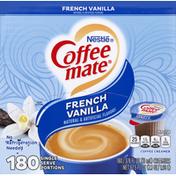 Nestlé Coffee Mate Coffeemate Single-Serve Creamer, French Vanilla